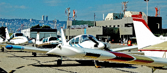 Международные рейсы из Хайфского аэропорта прекращены