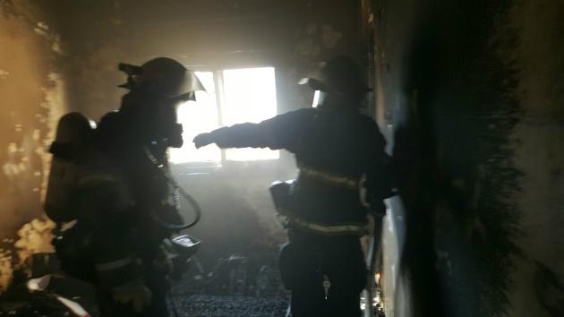 Пожар в Неве-Шаанане. Есть пострадавшие