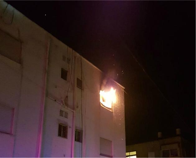Пожар в Неве-Шаанане