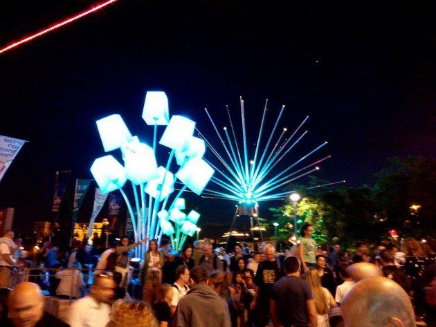 Скоро в Хайфе: светомузыкальное шоу в порту (видео)