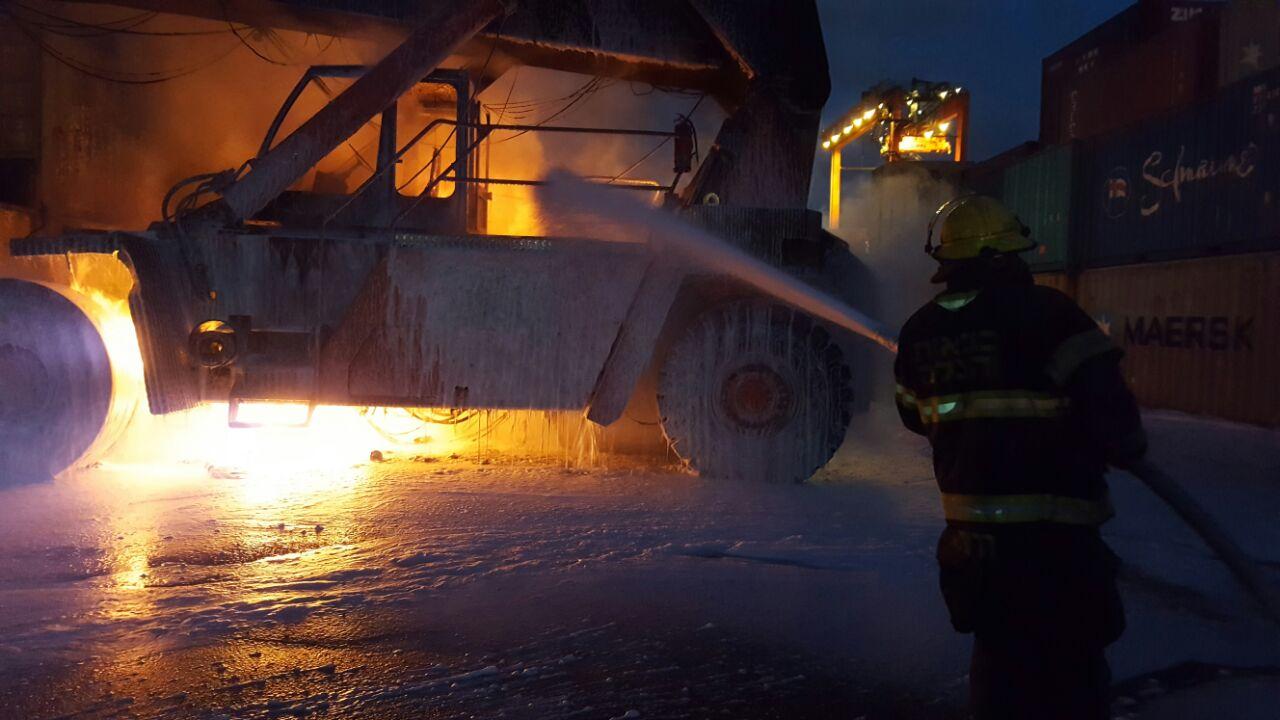 Сегодня в Хайфе: повышенное присутствие машин Пожарной службы