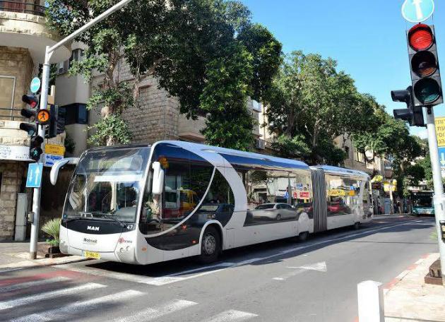 Новый маршрут «Метронита»: Хайфа-Крайот-Акко