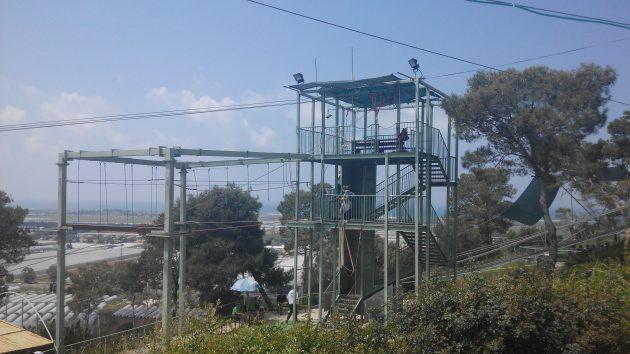 Знакомьтесь: экстрим-парк «Кармель Ям» (Видео)