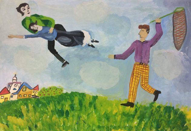 Марк Шагал нам дарит вдохновенье