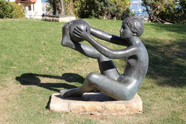 Автору работ в «Парке скульптур» Хайфы исполнилось 100 лет. До 120!