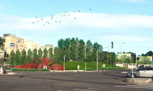 На месте фонтана появится новый парк