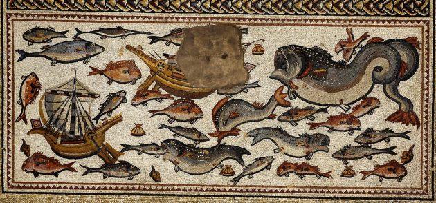 Новая выставка в Морском музее. Мозаика Лода