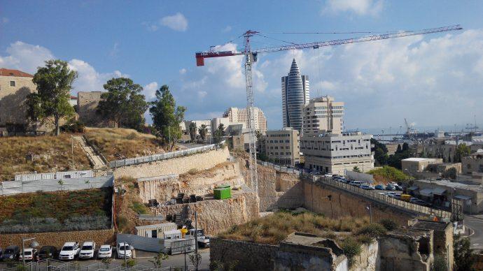 Строительство первого жилого комплекса в Вади Салиб