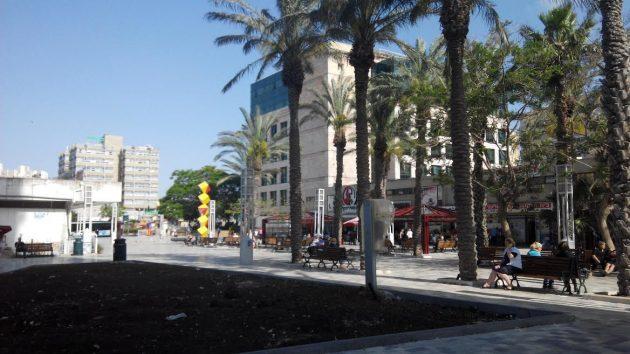 Центральную площадь Кирьят-Элиэзера уже реконструировали