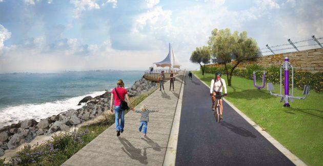 Велосипедные маршруты появятся вдоль побережья и в Неве-Шаанане