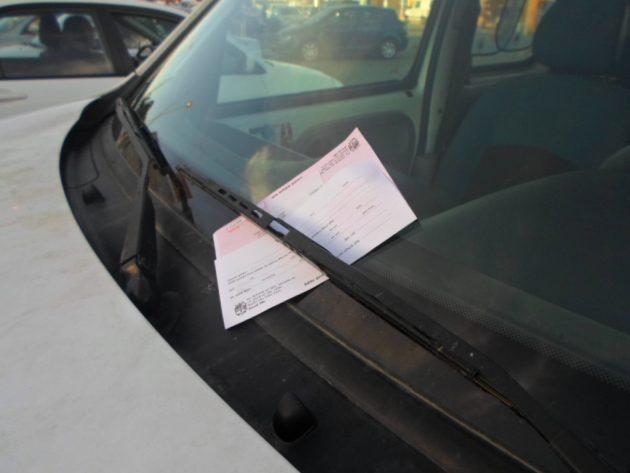 Штрафы за неправильную парковку: мэрия зарабатывает миллионы каждый месяц