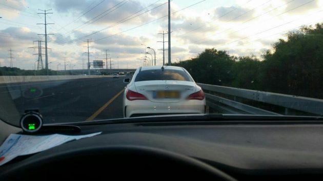 Мимо поста полиции «пролетел» автомобиль со скоростью 205 км/ч