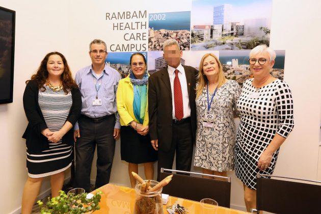 Палестинец пожертвовал хайфской больнице десятки тысяч шекелей