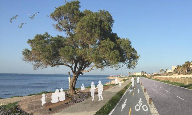 Скоро: велосипедные и пешеходные дорожки вдоль пляжей и в Неве-Шаанане
