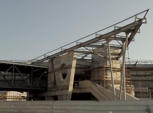 Хайфа: новый ж/д вокзал почти готов