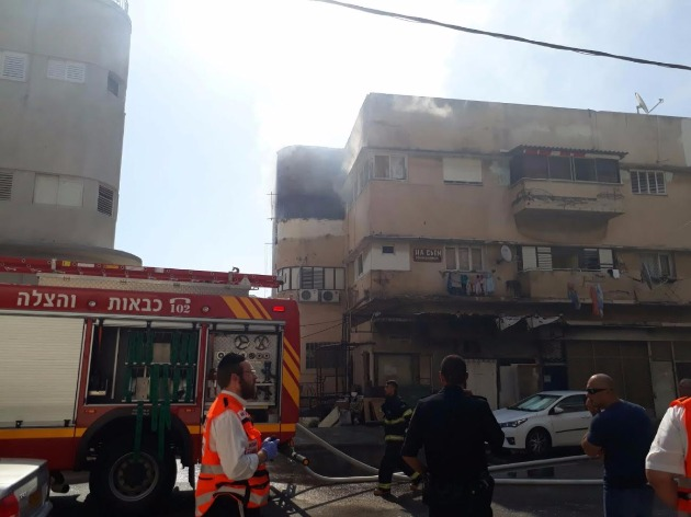 Пожар на Адаре: обнаружен труп