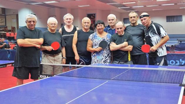 Лига настольного тенниса для пенсионеров Израиля стартовала