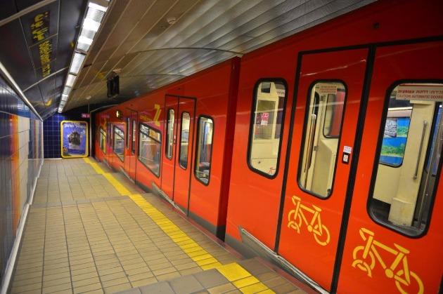 Хайфское метро: открытия осталось ждать меньше года