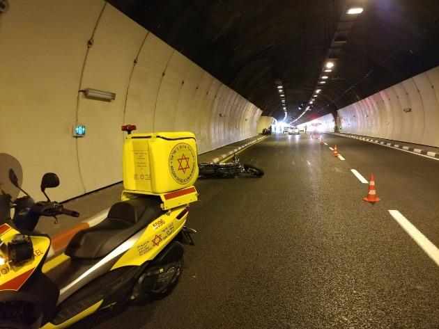 Авария в Кармельском туннеле