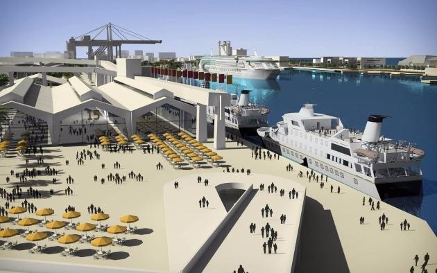 Превращение Хайфы в Барселону: реконструирован пассажирский терминал