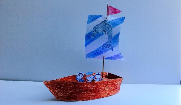 Творческий мастер-класс «Модель корабля своими руками» на русском языке
