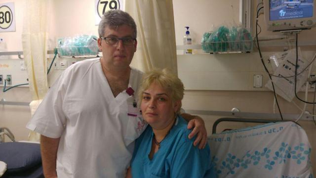 Пациентка больницы «Рамбам» избила медсестру Марину Френкель