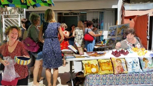 Ярмарка Ады Дибнер в Хайфе празднует трехлетний юбилей!