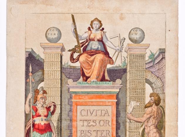 Новая выставка в Морском музее: «Атласы и золотой век голландской картографии»