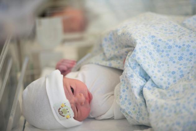 Новый год в больнице «Рамбам»: 45 новорождённых!