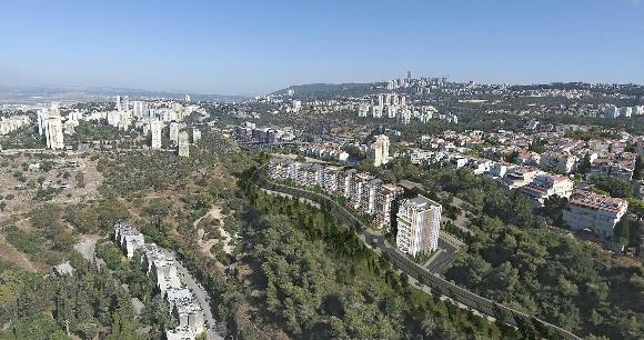 В красивейшем уголке Хайфы построят новый микрорайон