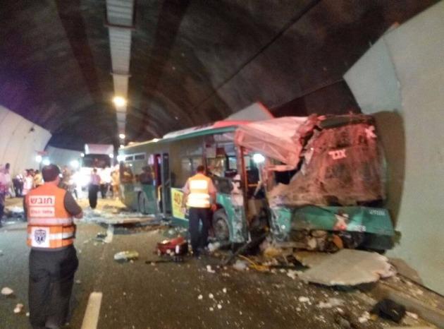 Тяжёлая авария в Кармельском туннеле: вынесен приговор водителю