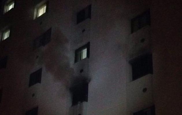 В квартире прогремел взрыв…
