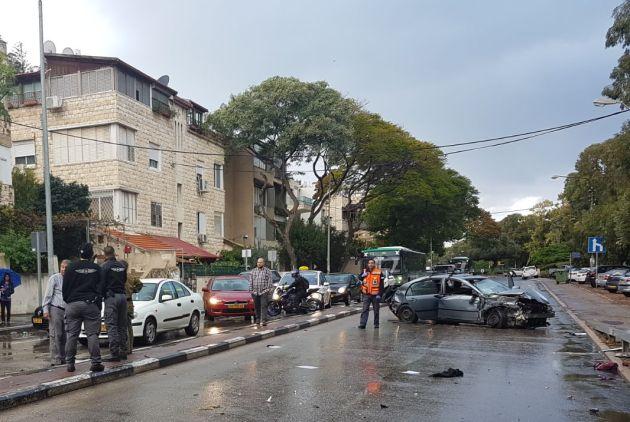 Тяжёлая авария в Кирьят-Элиэзере