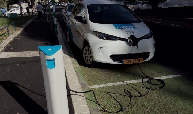 Электромобили в Хайфе: первая статистика