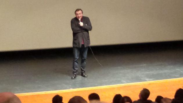 Алексей Учитель ответил на вопросы хайфчан после просмотра «Матильды»