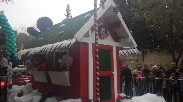 Приглашаем на экскурсию по праздничному Назарету и рождественский парад