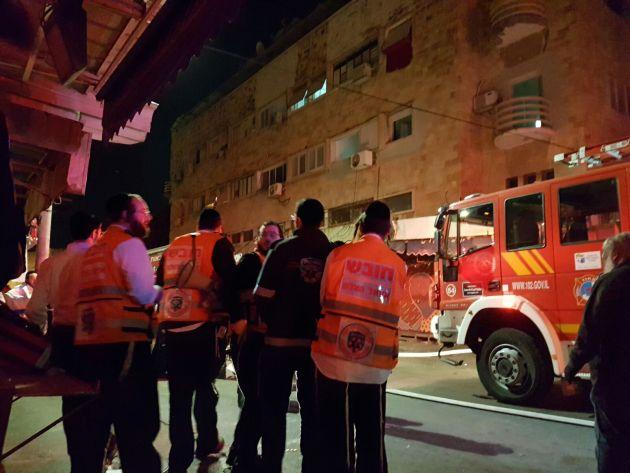 Пожар на рынке: 10 пострадавших