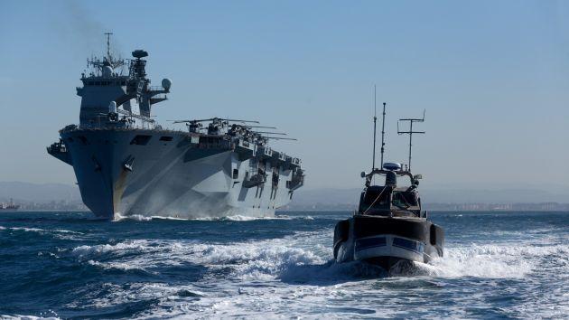 Неизвестная сторона визита флагмана британских ВМФ в Хайфу