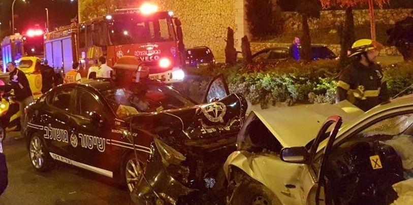 Авария возле ТЦ «Гранд Каньон» — результат погони