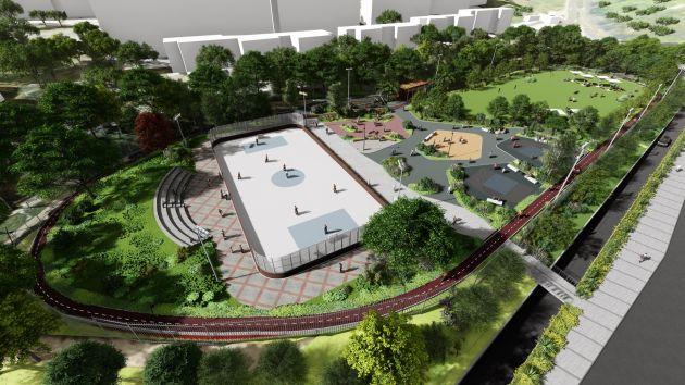 В Неве-Шаанане наконец-то появится многопрофильный спорткомплекс