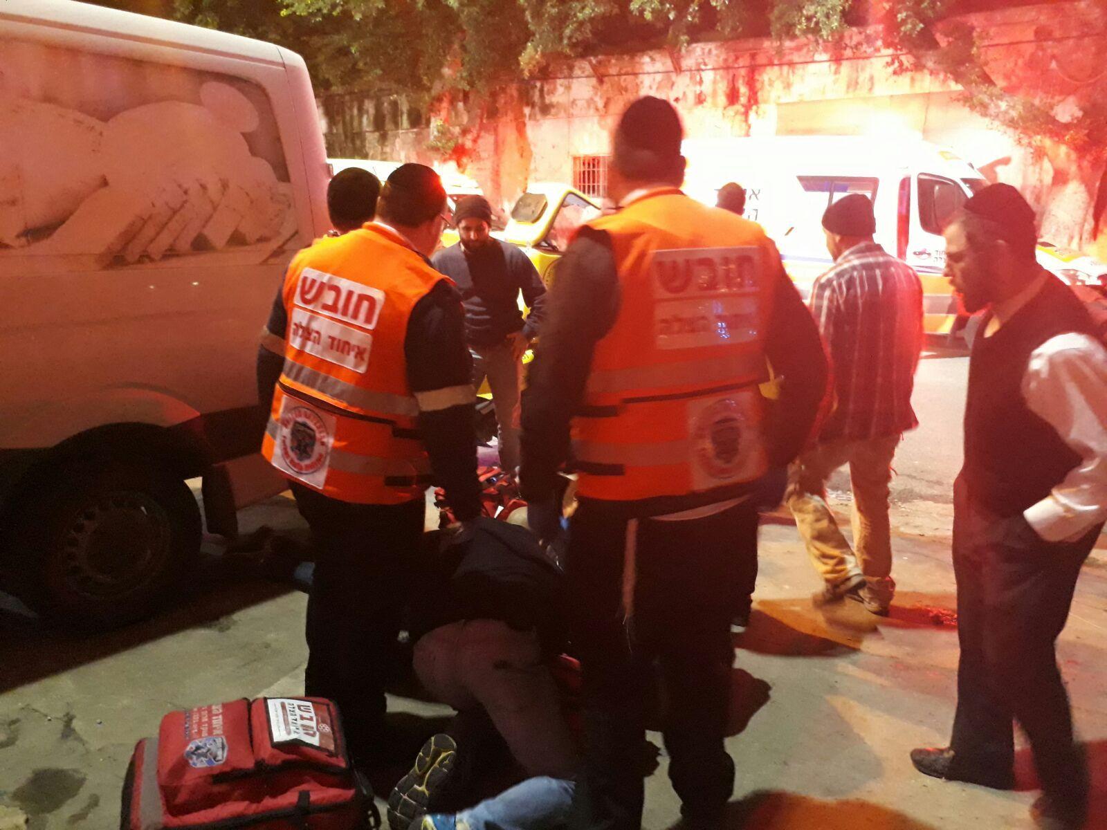 Неве-Шаанан: на улице обнаружен мужчина в бессознательном состоянии