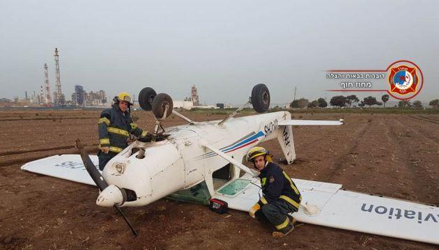 Происшествие: самолёт приземлился на… крылья