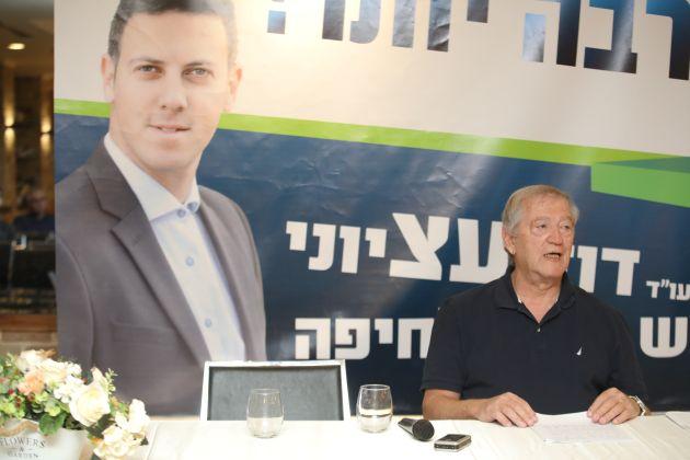Список ведущего кандидата в мэры Хайфы усиливается Итамаром Чизиком