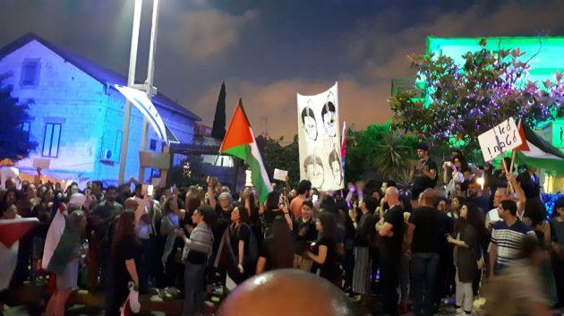 Антиизраильские акции в Хайфе: 5 человек задержаны