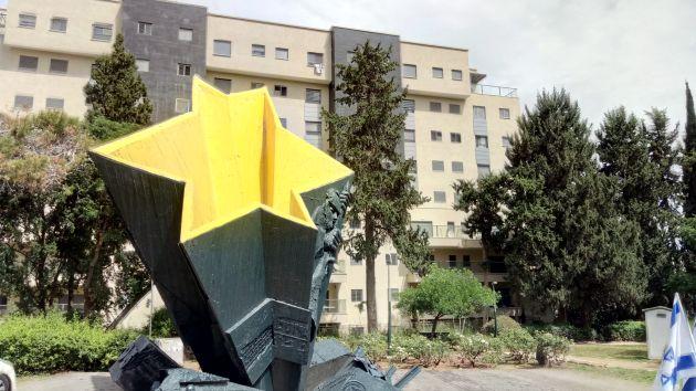 День Победы отметили у памятника воинам-евреям, погибшим во Второй мировой войне