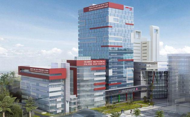 На территории больницы «Рамбам» появится новая высотка