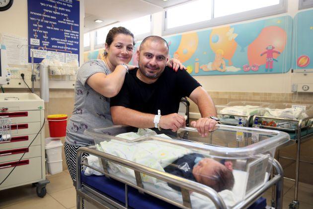 У Рамбама на днях родился сын в больнице «Рамбам» и это не шутка!
