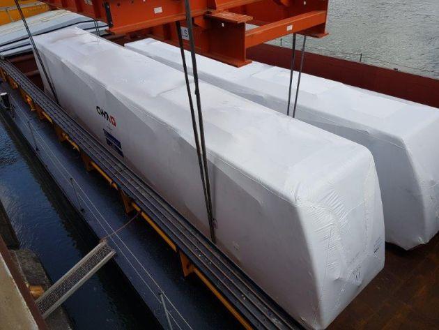 Новости сгоревшего метро: новые вагоны на пути в Хайфу