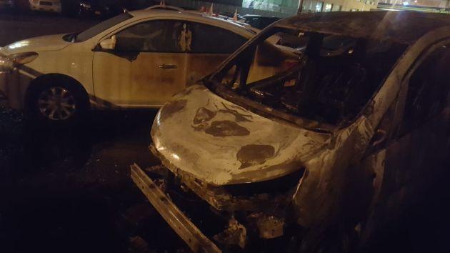Ночью в Хайфе горели 6 машин