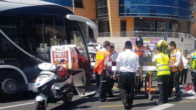 Авария: столкнулись мотоцикл и «Метронит»